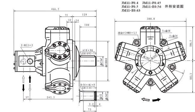 配套液压制动器型号